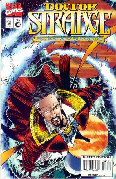 Doctor Strange: Sorcerer Supreme #80 comic books - cover scans photos Doctor Strange: Sorcerer Supreme #80 comic books - covers, picture gallery