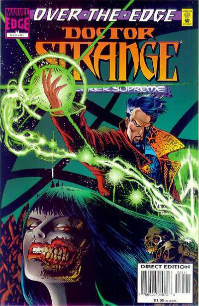 Doctor Strange: Sorcerer Supreme #81 comic books - cover scans photos Doctor Strange: Sorcerer Supreme #81 comic books - covers, picture gallery