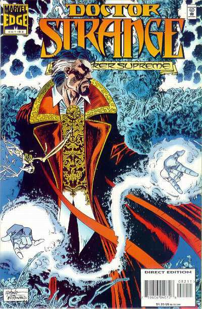 Doctor Strange: Sorcerer Supreme #82 comic books - cover scans photos Doctor Strange: Sorcerer Supreme #82 comic books - covers, picture gallery