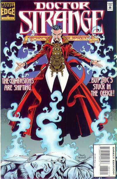 Doctor Strange: Sorcerer Supreme #83 comic books - cover scans photos Doctor Strange: Sorcerer Supreme #83 comic books - covers, picture gallery