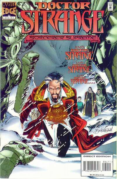 Doctor Strange: Sorcerer Supreme #84 comic books - cover scans photos Doctor Strange: Sorcerer Supreme #84 comic books - covers, picture gallery