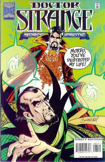Doctor Strange: Sorcerer Supreme #85 comic books - cover scans photos Doctor Strange: Sorcerer Supreme #85 comic books - covers, picture gallery