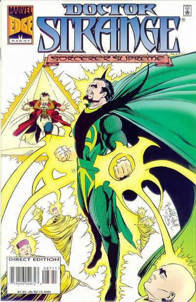 Doctor Strange: Sorcerer Supreme #87 comic books - cover scans photos Doctor Strange: Sorcerer Supreme #87 comic books - covers, picture gallery