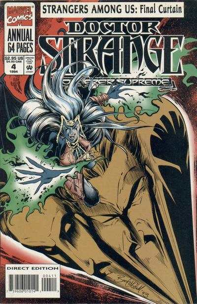 Doctor Strange: Sorcerer Supreme #4 comic books for sale