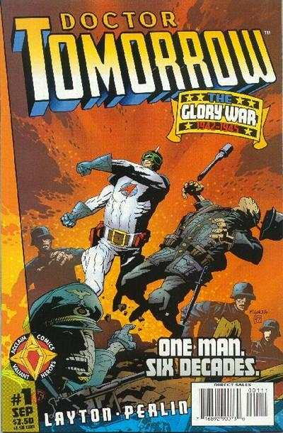 Doctor Tomorrow comic books