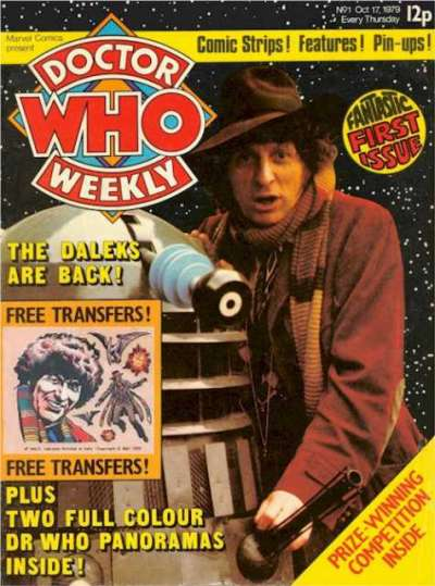 Doctor Who Magazine Comic Books. Doctor Who Magazine Comics.