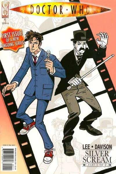 Doctor Who: Silver Scream Comic Books. Doctor Who: Silver Scream Comics.