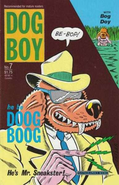 Dog Boy #7 comic books for sale