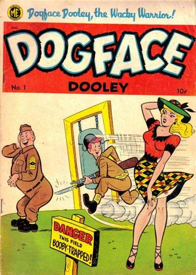 Dogface Dooley #1 Comic Books - Covers, Scans, Photos  in Dogface Dooley Comic Books - Covers, Scans, Gallery