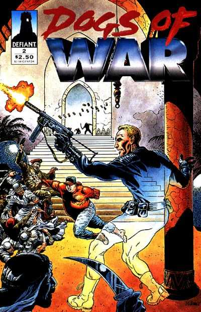 Dogs of War #2 comic books - cover scans photos Dogs of War #2 comic books - covers, picture gallery