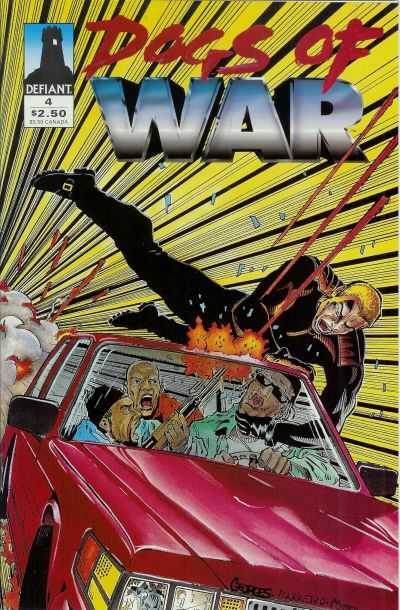 Dogs of War #4 comic books - cover scans photos Dogs of War #4 comic books - covers, picture gallery