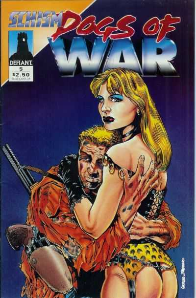 Dogs of War #5 comic books - cover scans photos Dogs of War #5 comic books - covers, picture gallery