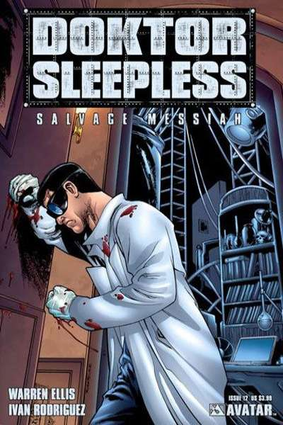 Doktor Sleepless #12 Comic Books - Covers, Scans, Photos  in Doktor Sleepless Comic Books - Covers, Scans, Gallery