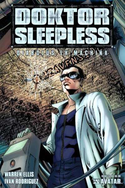 Doktor Sleepless #13 Comic Books - Covers, Scans, Photos  in Doktor Sleepless Comic Books - Covers, Scans, Gallery
