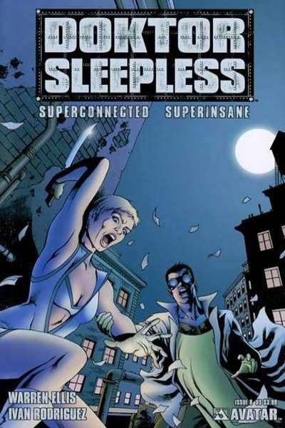 Doktor Sleepless #8 Comic Books - Covers, Scans, Photos  in Doktor Sleepless Comic Books - Covers, Scans, Gallery