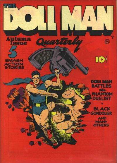 Doll Man comic books