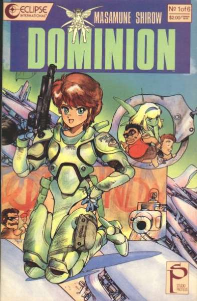 Dominion comic books