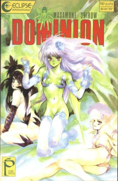 Dominion #2 comic books for sale