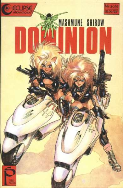 Dominion #3 comic books for sale