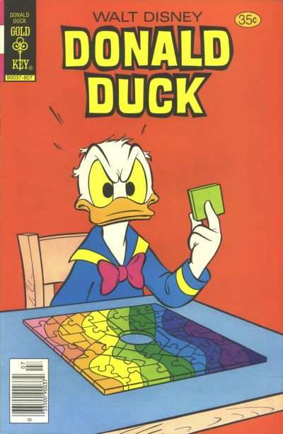 Donald Duck #197 comic books - cover scans photos Donald Duck #197 comic books - covers, picture gallery