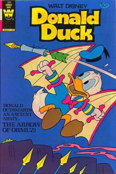 Donald Duck #225 comic books - cover scans photos Donald Duck #225 comic books - covers, picture gallery