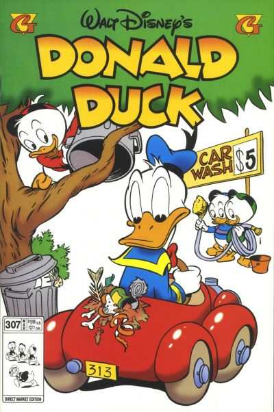 Donald Duck #307 comic books - cover scans photos Donald Duck #307 comic books - covers, picture gallery
