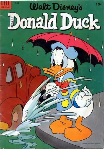Donald Duck #33 Comic Books - Covers, Scans, Photos  in Donald Duck Comic Books - Covers, Scans, Gallery