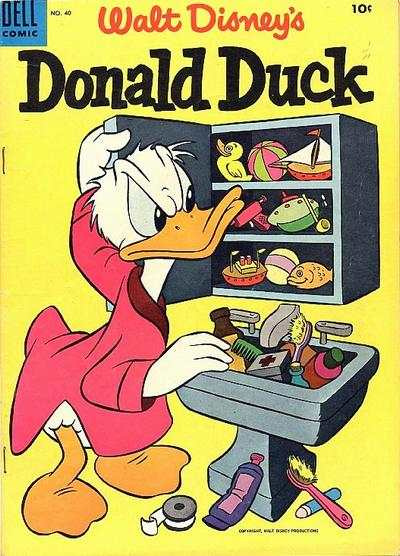 Donald Duck #40 Comic Books - Covers, Scans, Photos  in Donald Duck Comic Books - Covers, Scans, Gallery