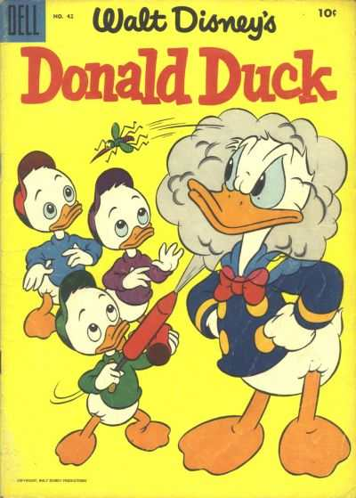 Donald Duck #42 Comic Books - Covers, Scans, Photos  in Donald Duck Comic Books - Covers, Scans, Gallery