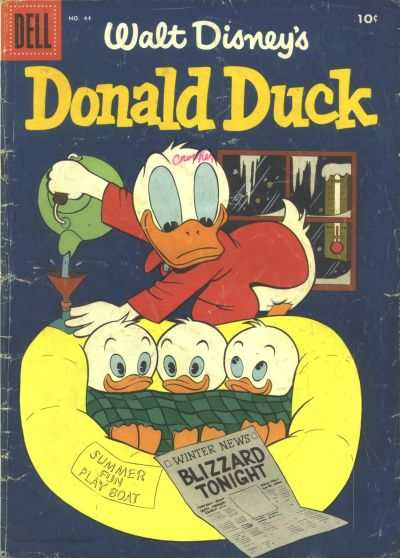 Donald Duck #44 Comic Books - Covers, Scans, Photos  in Donald Duck Comic Books - Covers, Scans, Gallery