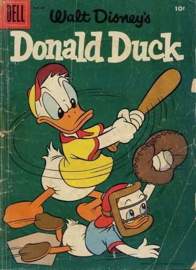 Donald Duck #49 Comic Books - Covers, Scans, Photos  in Donald Duck Comic Books - Covers, Scans, Gallery