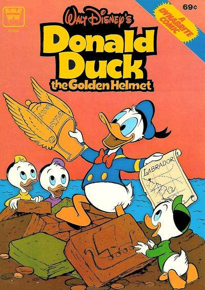 Donald Duck and the Golden Helmet comic books