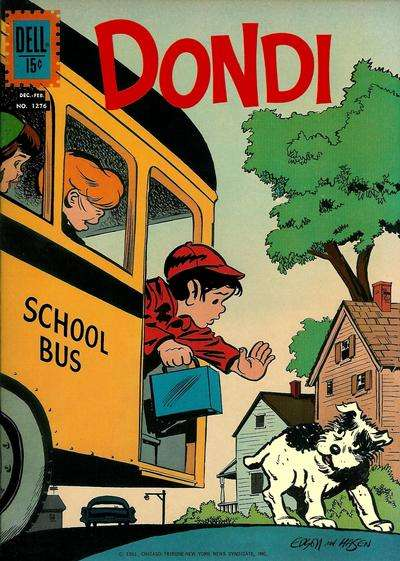 Dondi #2 comic books - cover scans photos Dondi #2 comic books - covers, picture gallery