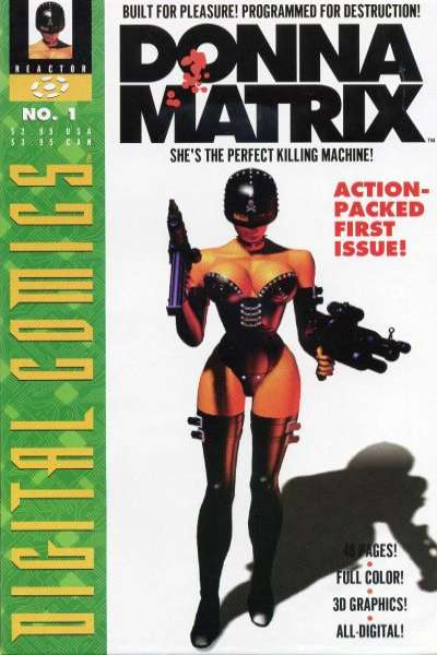 Donna Matrix #1 comic books - cover scans photos Donna Matrix #1 comic books - covers, picture gallery