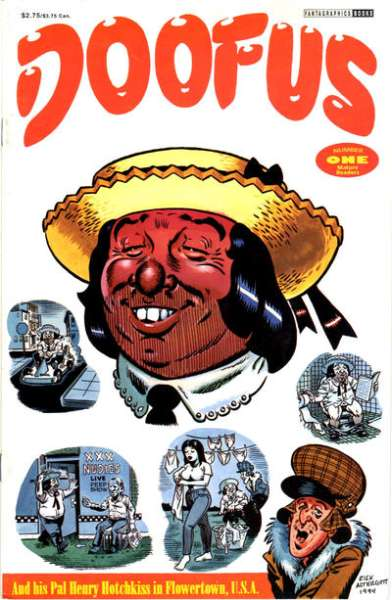 Doofus #1 Comic Books - Covers, Scans, Photos  in Doofus Comic Books - Covers, Scans, Gallery