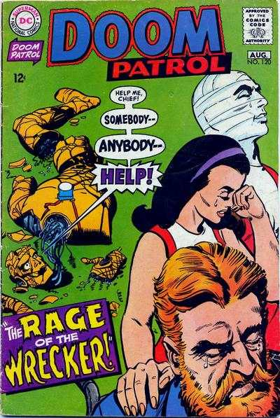 Doom Patrol #120 comic books for sale