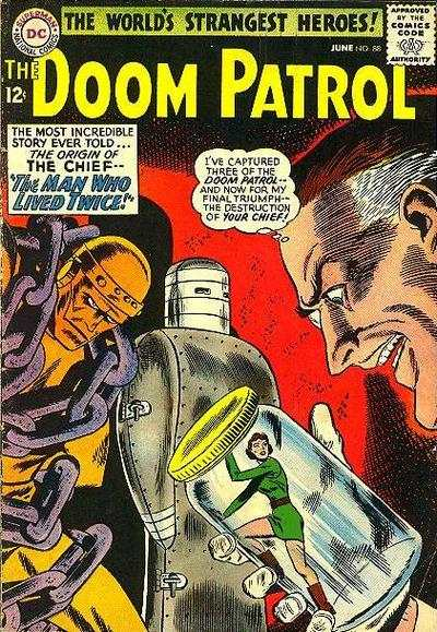 Doom Patrol #88 comic books for sale