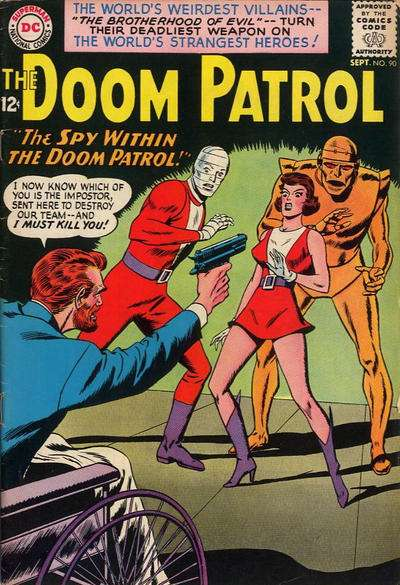 Doom Patrol #90 comic books for sale