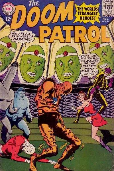 Doom Patrol #91 comic books for sale
