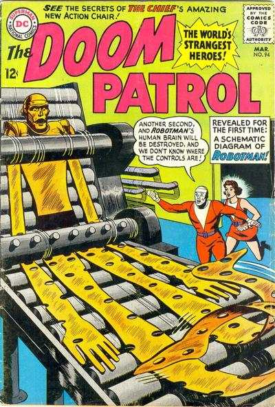 Doom Patrol #94 comic books for sale