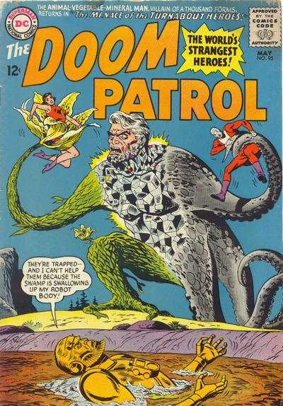Doom Patrol #95 comic books for sale