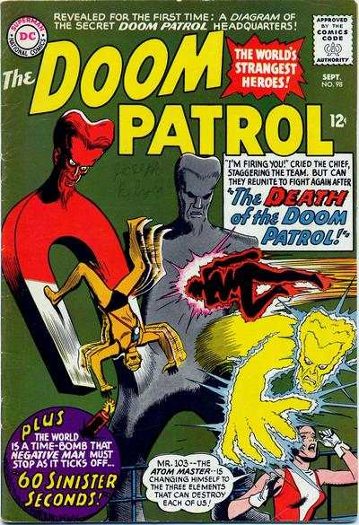 Doom Patrol #98 comic books for sale