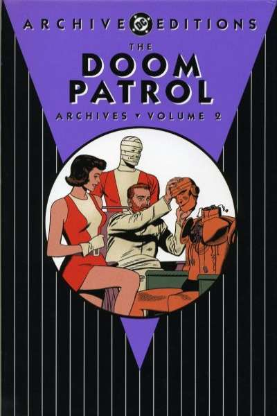 Doom Patrol Archives - Hardcover #2 comic books - cover scans photos Doom Patrol Archives - Hardcover #2 comic books - covers, picture gallery