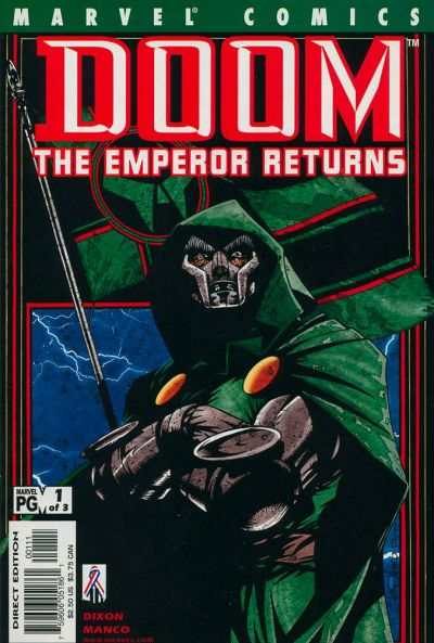 Doom: The Emperor Returns #1 Comic Books - Covers, Scans, Photos  in Doom: The Emperor Returns Comic Books - Covers, Scans, Gallery