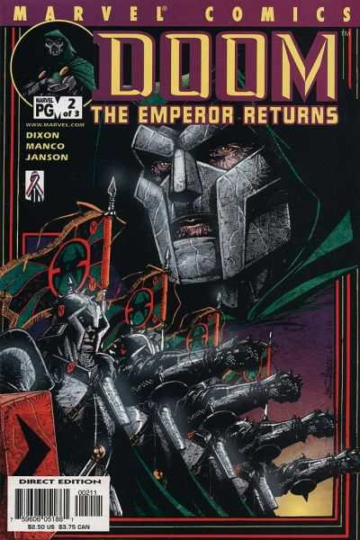 Doom: The Emperor Returns #2 Comic Books - Covers, Scans, Photos  in Doom: The Emperor Returns Comic Books - Covers, Scans, Gallery