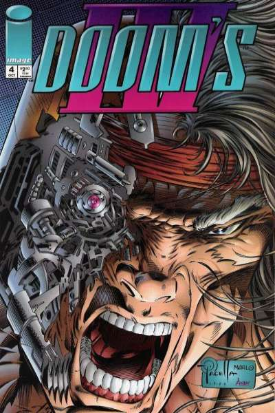 Doom's IV #4 comic books for sale