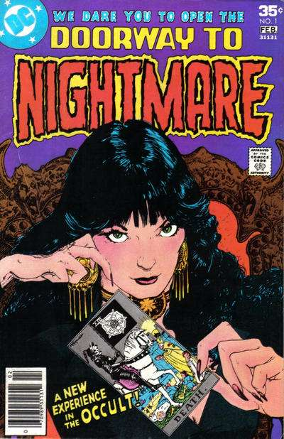 Doorway to Nightmare #1 Comic Books - Covers, Scans, Photos  in Doorway to Nightmare Comic Books - Covers, Scans, Gallery