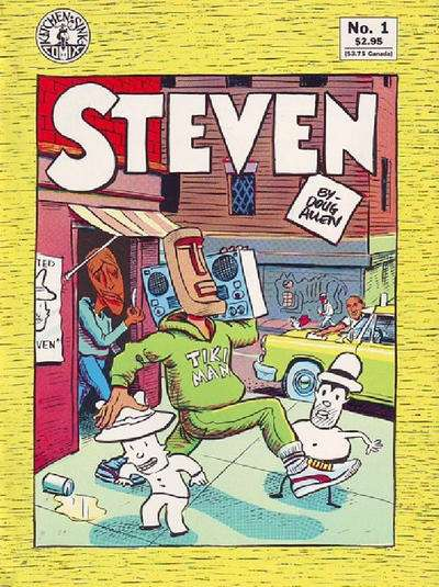 Doug Allen's Steven #1 Comic Books - Covers, Scans, Photos  in Doug Allen's Steven Comic Books - Covers, Scans, Gallery