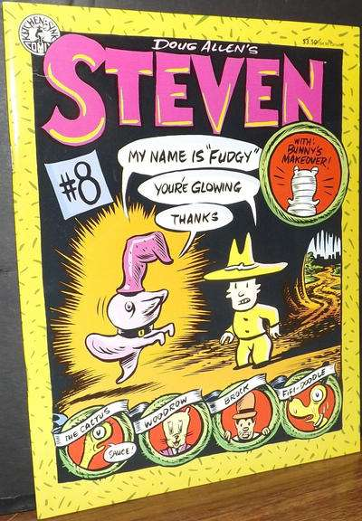 Doug Allen's Steven #8 Comic Books - Covers, Scans, Photos  in Doug Allen's Steven Comic Books - Covers, Scans, Gallery