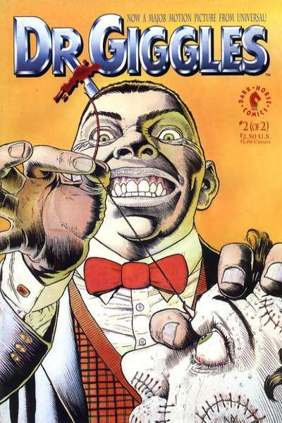Dr. Giggles #2 Comic Books - Covers, Scans, Photos  in Dr. Giggles Comic Books - Covers, Scans, Gallery